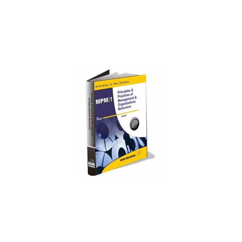 Principles & Practices of Management & OB