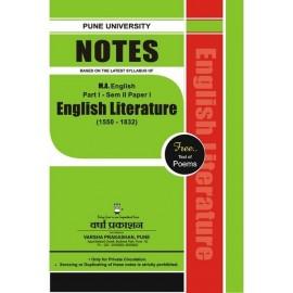 English Literature (1550-1832) 2.1