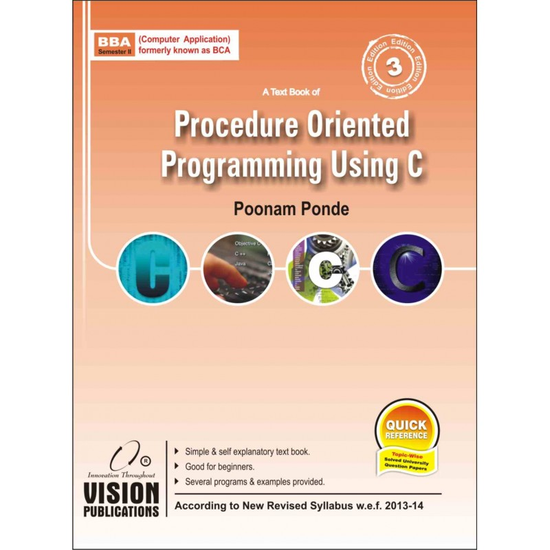 Procedure Oriented Programming Using C