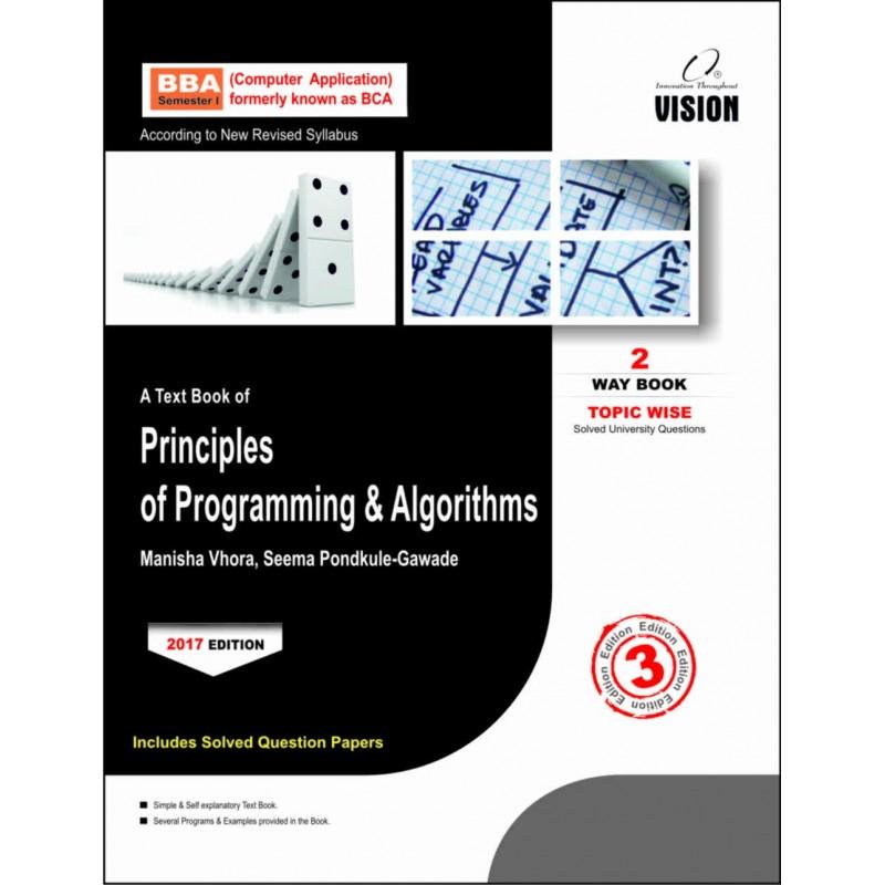 Principles of Programming & Algorithms