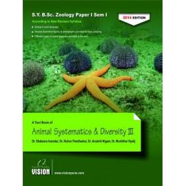 Animal Systematics & Diversity - III