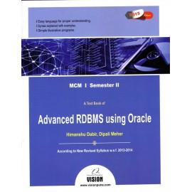 Advanced RDBMS using Oracle