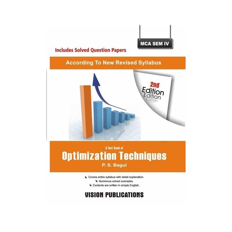 Optimization Technique - Vision Publications