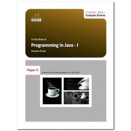 Programming in Java-I