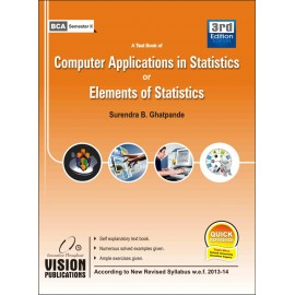 Computer Application or Elements of Statistics