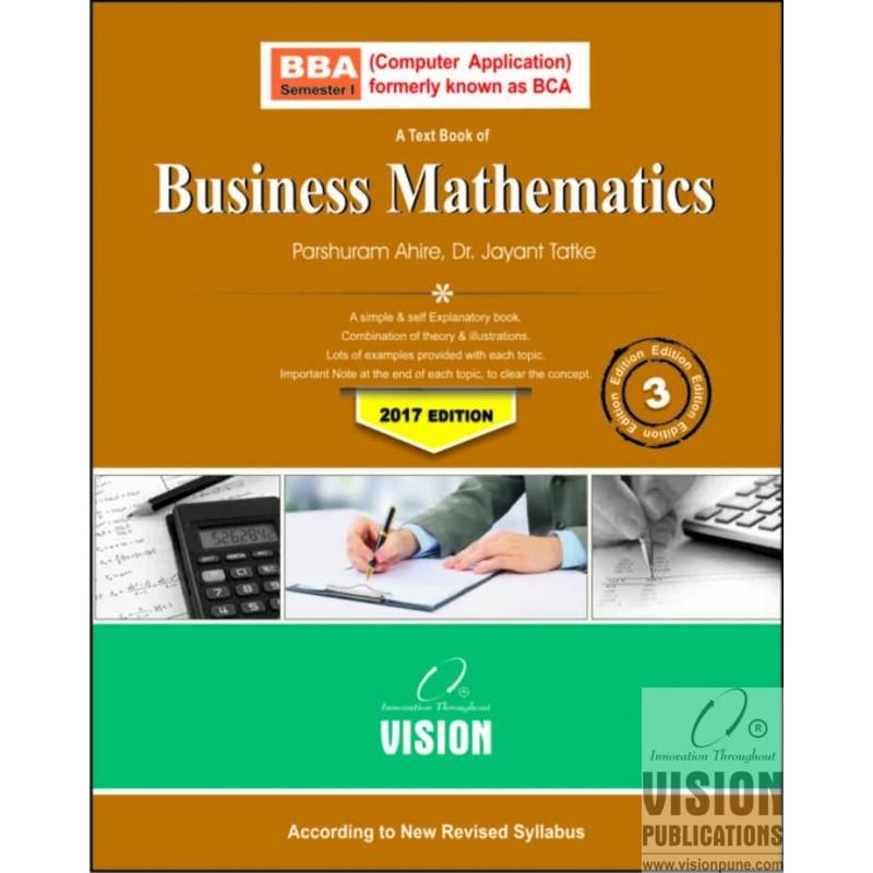 Business Mathematics - Vision Publications