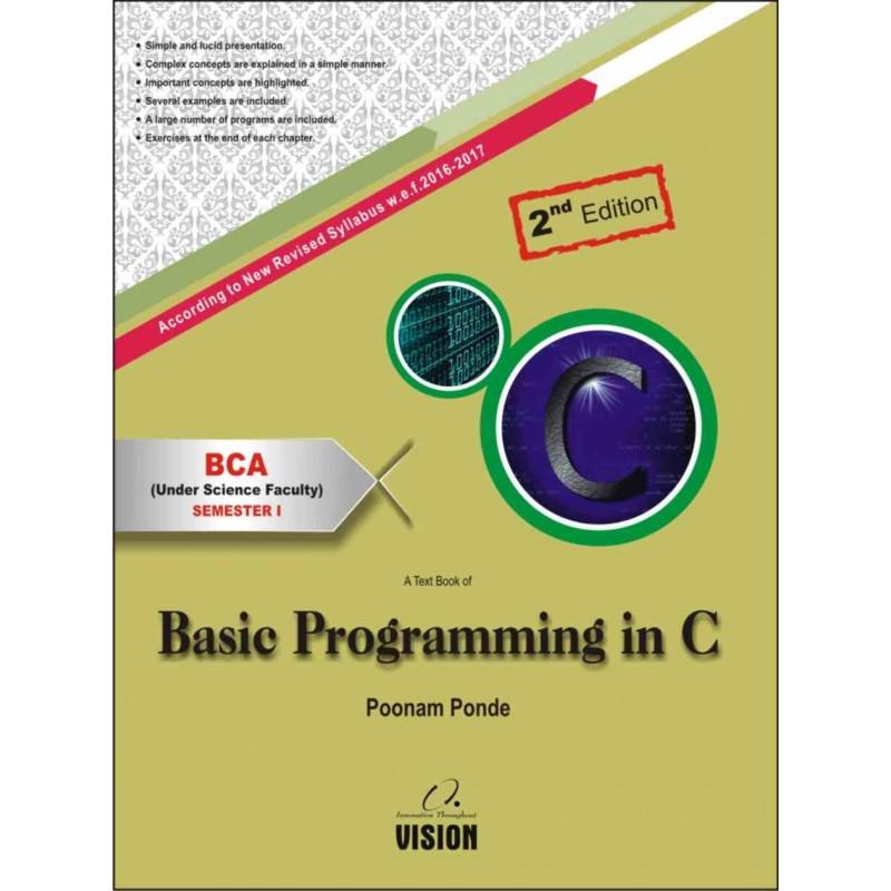 Basic Programming in C