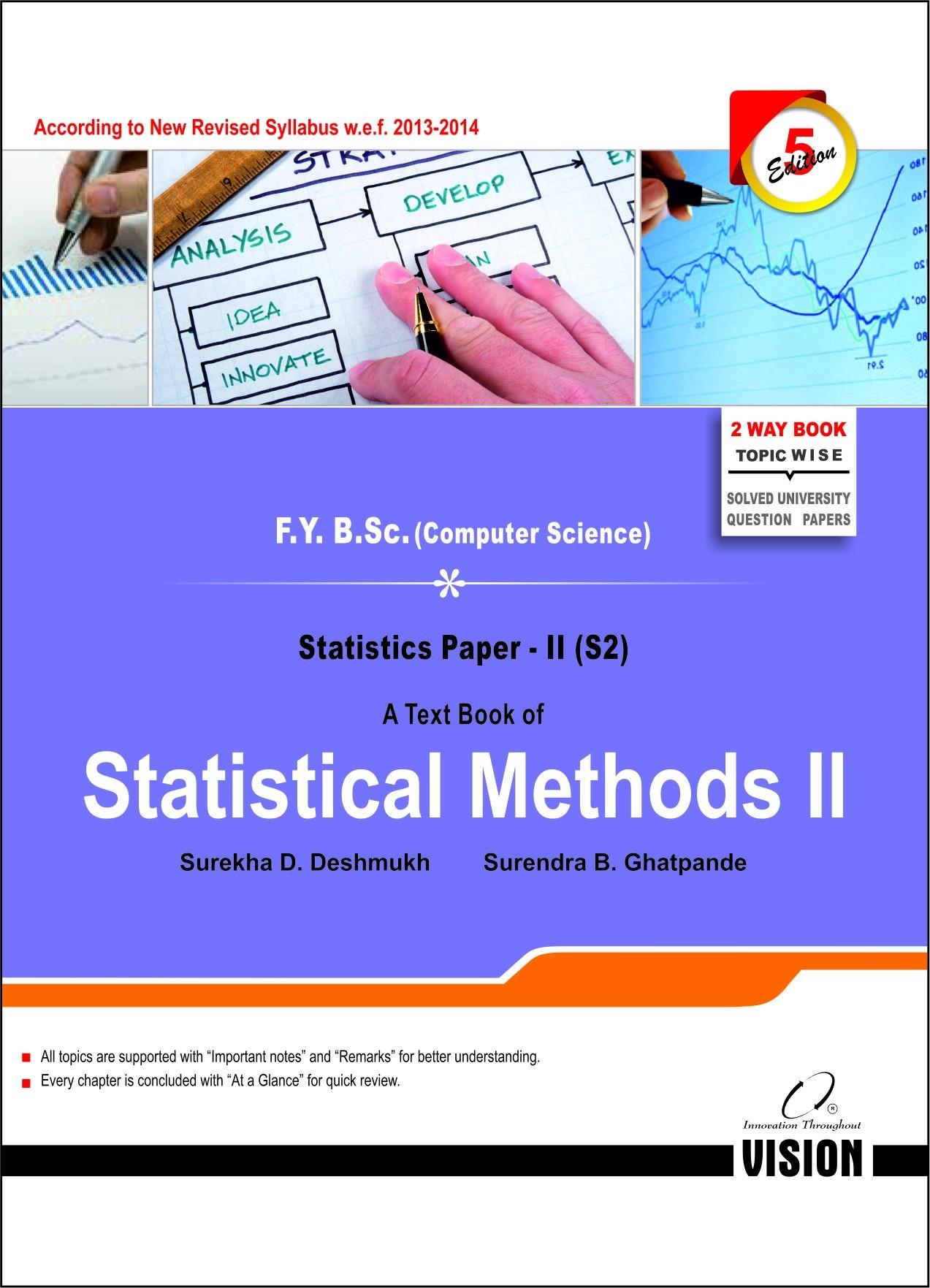 Statistical Methods II - Vision Publications