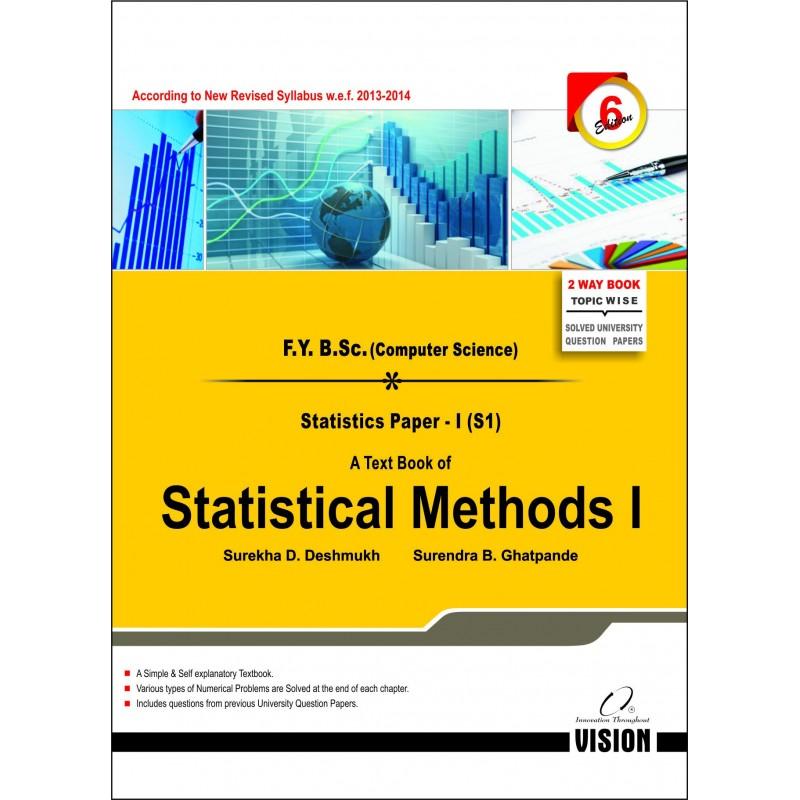 Statistical Methods I