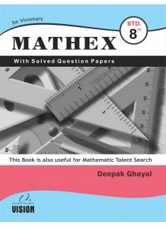 Mathex for 8th Std. (English)