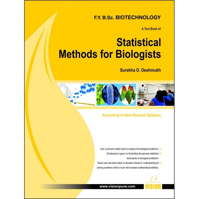 Statistical Methods for Biologists