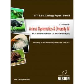 Animal Systematics & Diversity IV