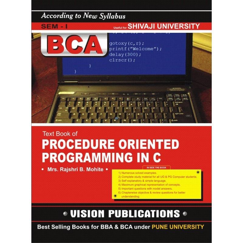 Procedure Oriented Programming in C