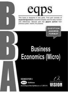 Business Economics (Micro)