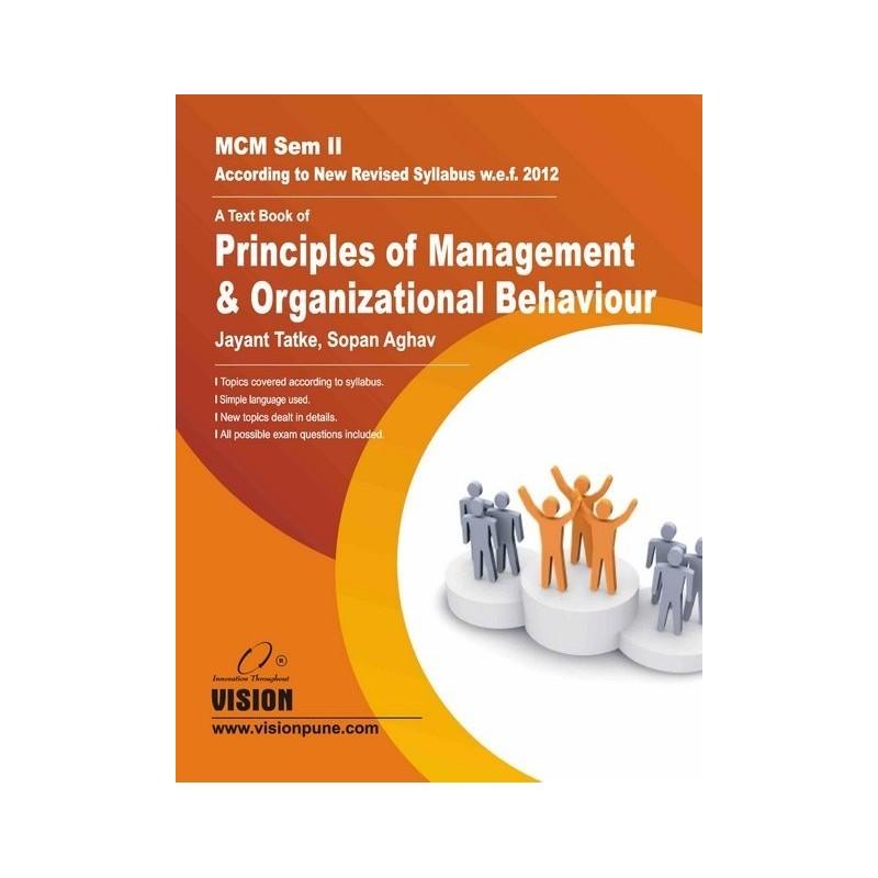 Principles of Management and Organizational Behaviour